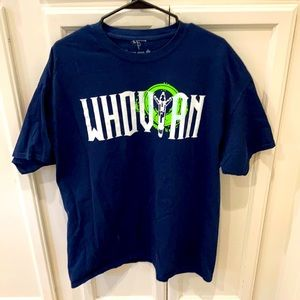 Dr Who Navy Blue T-shirt